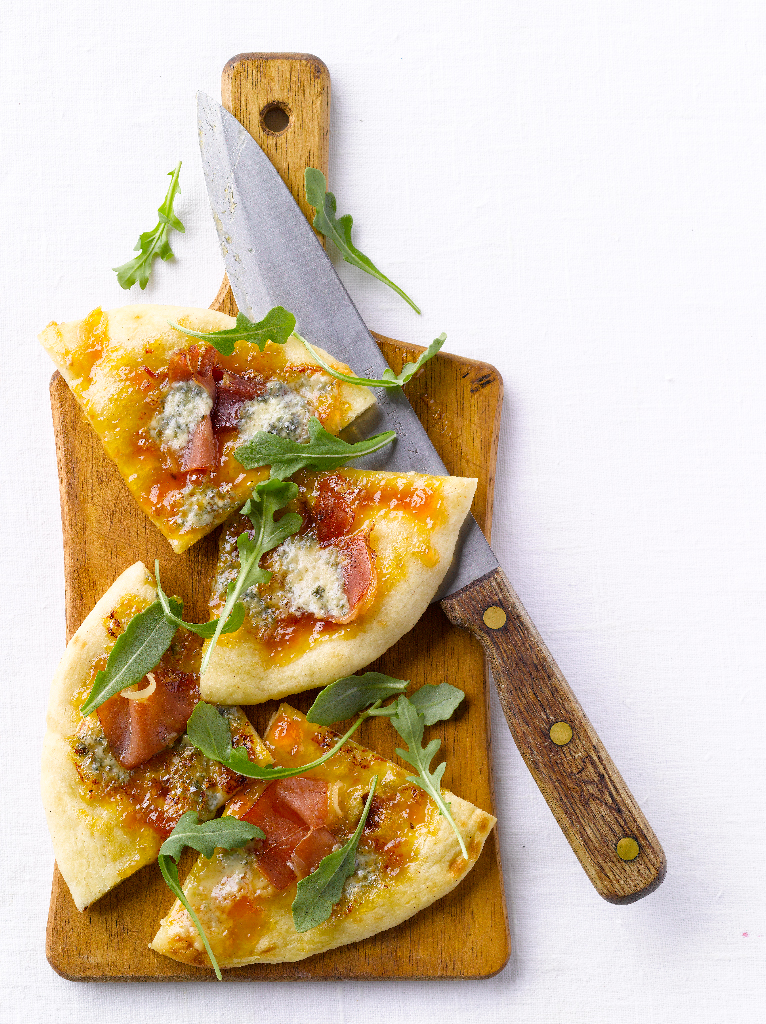Arugula and Prosciutto Flatbreads