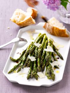 Asparagus with Pecorino Romano